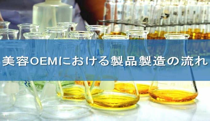 化粧箱OEMにおける製品製造の流れ
